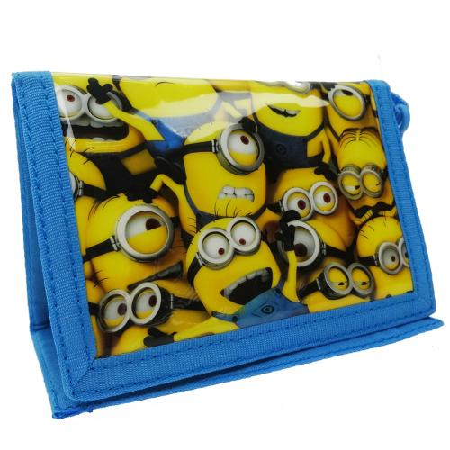 Despicable Me Nylon Wallet Minions
