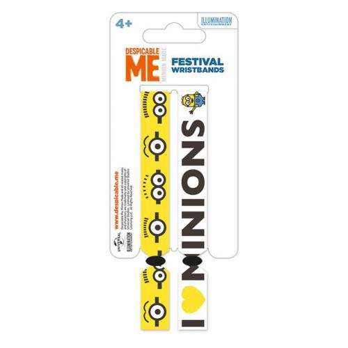 Despicable Me Festival Wristbands Minions