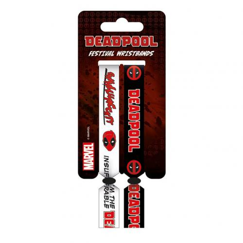 Deadpool Festival Wristbands