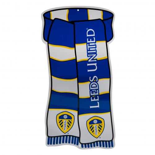 Leeds United F.C. Show Your Colours Sign