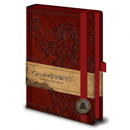 Game Of Thrones Premium A5 Notebook Lannister