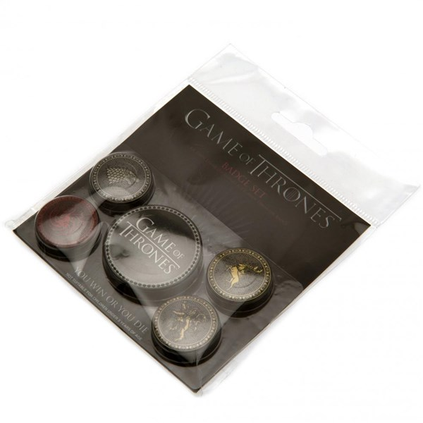 Game Of Thrones Button Badge Set