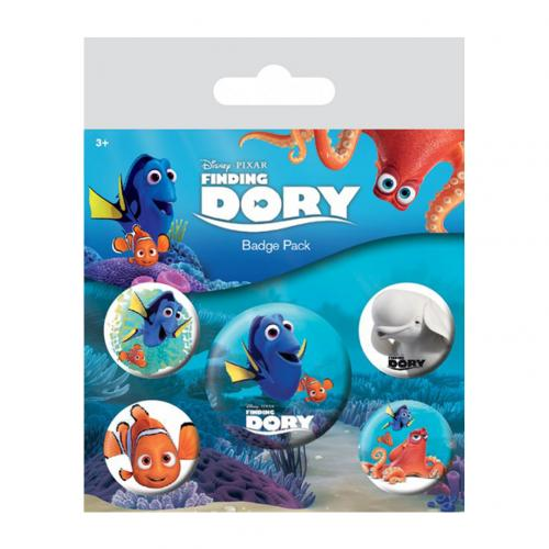 Finding Dory Button Badge Set