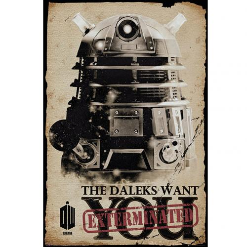 Doctor Who Poster Daleks 221