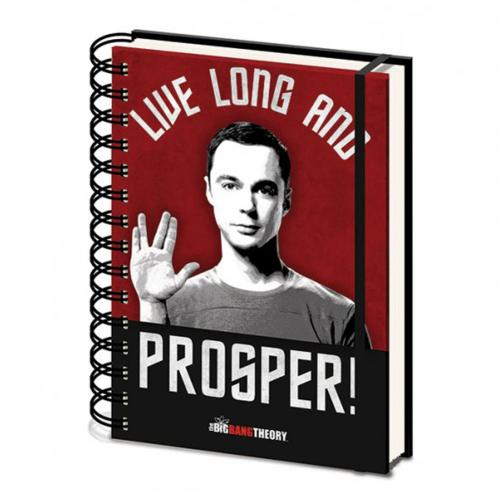 The Big Bang Theory A5 Notebook