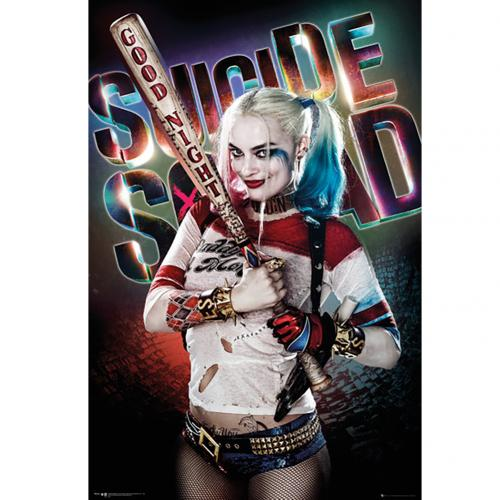 Suicide Squad Poster Harley Quinn 225