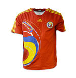 2013-2014 Romania Adidas Away Football Shirt