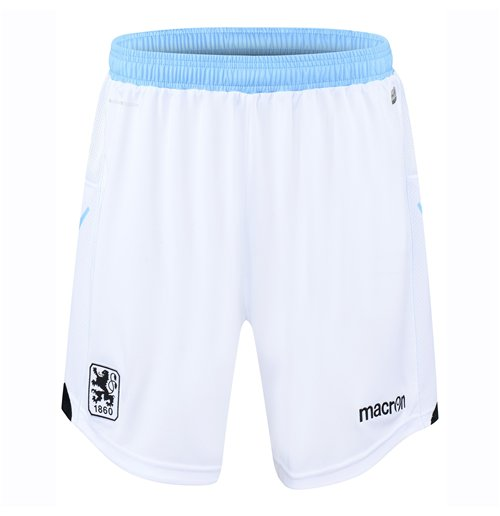 2016-2017 Munich 1860 Macron Home Shorts (White)