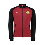 2016-2017 Man City Nike Authentic N98 Track Jacket (Black-Red)