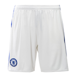 2016-2017 Chelsea Adidas Third Shorts (White)