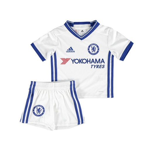 2016-2017 Chelsea Adidas Third Little Boys Mini Kit