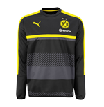 2016-2017 Borussia Dortmund Puma Sweat Top (Black)