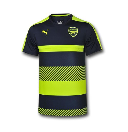 low priced 6bd7d ee0f8 2016-2017 Arsenal Puma Training Jersey (Peacot-Yellow) - Kids