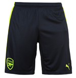 2016-2017 Arsenal Third Cup Football Shorts (Peacot)
