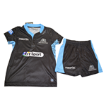 2015-2016 Glasgow Warriors Macron Home Rugby Mini Kit