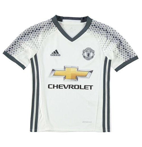 2016-2017 Man Utd Adidas Third Football Shirt (Kids)