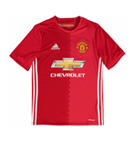 2016-2017 Man Utd Adidas Home Football Shirt (Kids)