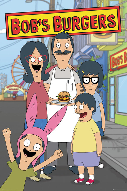 Bobs Burgers Family Maxi Poster