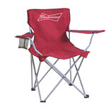 BUDWEISER Collapsible Tailgate Chair