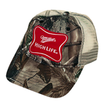 MILLER High Life Camo Trucker Hat