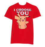 POKEMON Pikachu I Choose You Tee Shirt