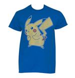 POKEMON Distressed Pikachu Tee Shirt
