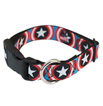 CAPTAIN AMERICA Dog Collar