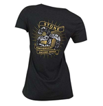 STONE BREWING CO. Encore Women's V-Neck Tee Shirt