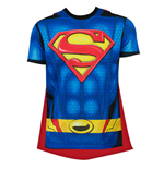 SUPERMAN Sublimated Cape Tee Shirt
