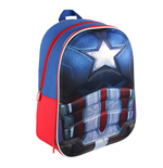 Captain America Civil War 3D Backpack Captain America