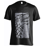 Game of Thrones T-Shirt Stark Charcoal