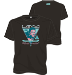 Star Wars T-Shirt Lando Rock Poster