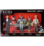 The New Batman Adventures Bendable Figures 5-Pack Heroes 14 cm
