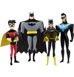 The New Batman Adventures Bendable Figures 4-Pack Masked Heroes 14 cm