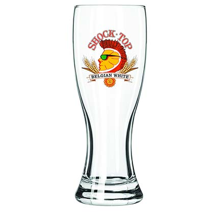 SHOCK TOP Pilsner Pint Glass