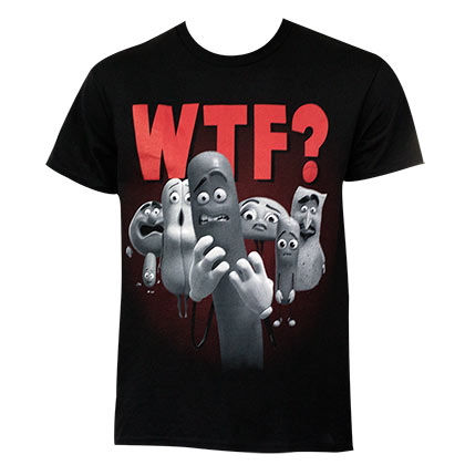 SAUSAGE PARTY WTF Tee Shirt