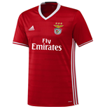 2016-2017 Benfica Adidas Home Football Shirt