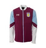 2016-2017 Aston Villa Stadium Jacket (Royal Magenta)