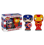 Avengers Age of Ultron POP! Home Salt and Pepper Pots Captain American & Iron Man