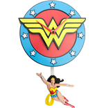 Wonder Woman Wall Clock Swinging Wonder Woman