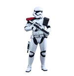 Star Wars Episode VII Movie Masterpiece Action Figure 1/6 First Order Stormtrooper Officer 30 cm
