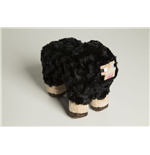 Minecraft Plush Figure Black Sheep 30 cm