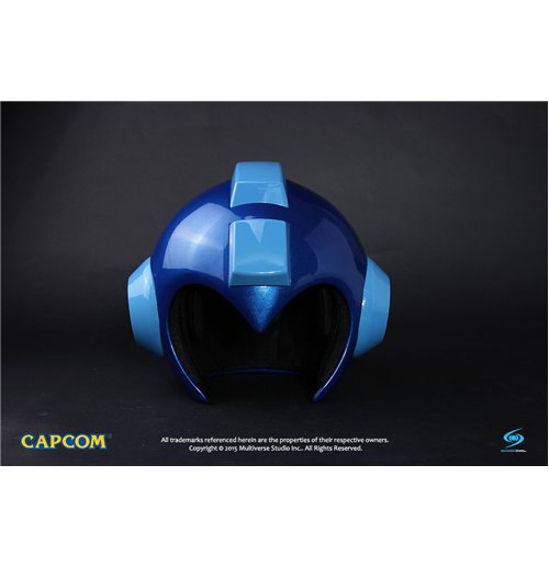 megaman replica 1 1 wearable megaman helmet with led light up function for only at. Black Bedroom Furniture Sets. Home Design Ideas