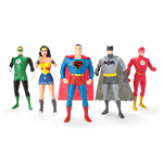 Justice League Bendable Figures 5-Pack 13 cm