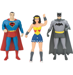 Justice League Bendable Figures 3-Pack 7 cm