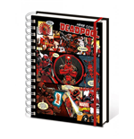 Marvel Comics Notebook A5 Deadpool