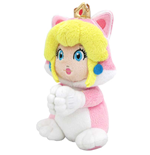 Nintendo Plush Princess Peach Cat with Magnetic Little Hands