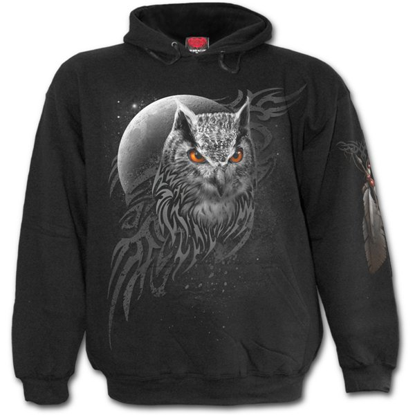 Wings Of Wisdom - Hoody Black