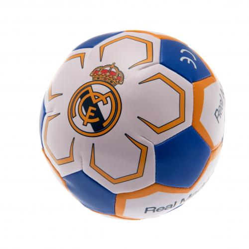 Real Madrid F.C. 4 inch Soft Ball