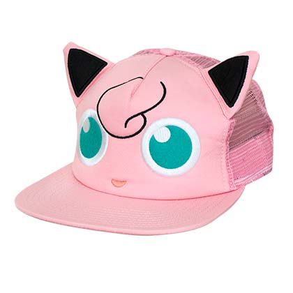 Official Pokemon Jigglypuff Pink Hat Buy Online On Offer